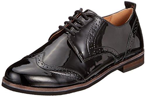 Stringate Scarpe black Patent Caprice 18 23200 Nero Donna Oxford qwFn5x15PE