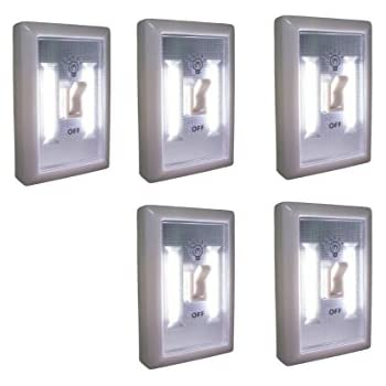 Promier LED Wireless Light Switch, Under Cabinet, RV, Kitchen, Night Light, Counter, or Boat