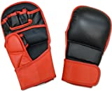 Ring to Cage MMA Safety Training Leather Gloves