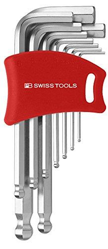 PB Swiss Tools PB 212DH-10 Ballend hex set double holder