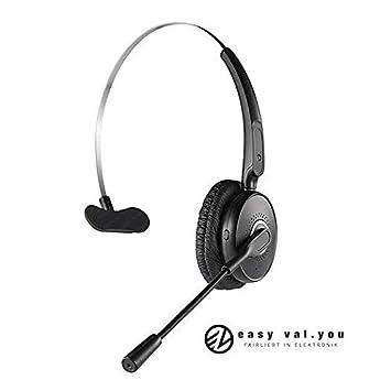 Auriculares Bluetooth 4.2 con micrófono para teléfono móvil Office Voyager, para PC y ordenador portátil
