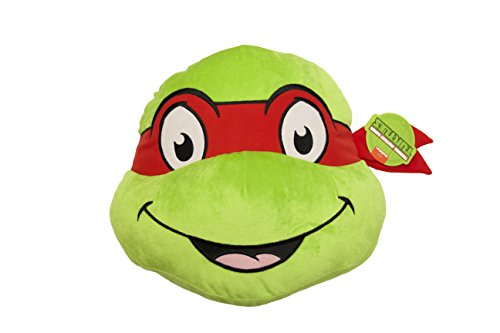 Jay Franco Nickelodeon Teenage Mutant Ninja Turtles Raphael Face Pillow,
