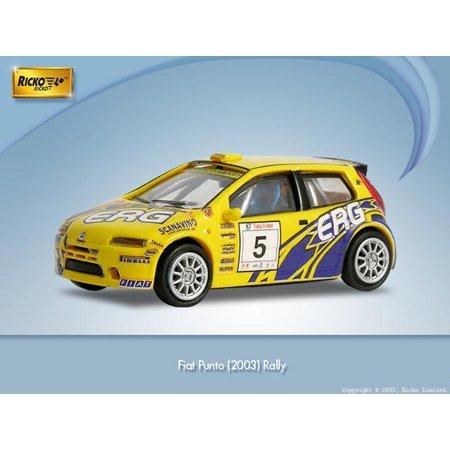 Ricko 38828 Fiat Punto Rally 2003 Scala 187 Amazon Giochi E