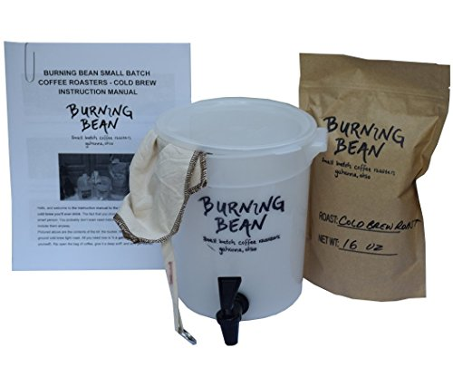 Burning Bean Coffee's 1-Gallon Cold Brew
