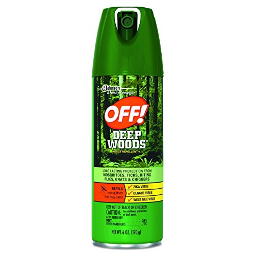 Off! Deep Woods  6-Ounce Cans (Pack of 12)