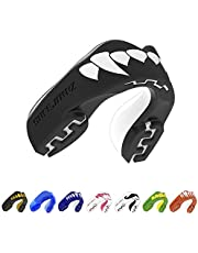 SAFEJAWZ Mouthguard. Slim Fit, Full Contact Gum Shield for Rugby, MMA & Boxing.