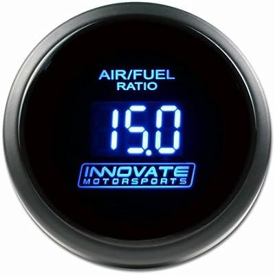 2 1//16 52mm Innovative Motorsports Innovate Motorsports 3793 DB BLUE Wideband Gauge Only 0-5 volt Input Linear