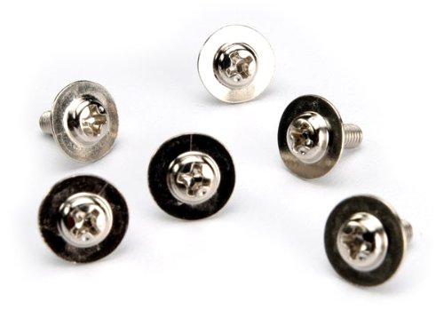 Traxxas 3185X Washer-head Machine Screws, 3x8mm (set of 6)
