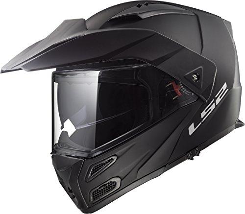 LS2 Helmets Metro V3 Unisex-Adult Flip-Up-Helmet-Style Metro V3 Helmet (Matt Black, (Matt Black Small Helmet)