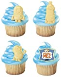 1 X Despicable Me 2 Minion Cupcake Rings - 12 ct by Oasis Supply