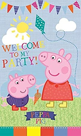 Image Unavailable Not Available For Colour Peppa Pig Party Door Banner