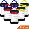 6-Pack MISPO Camping Lantern Flashlights