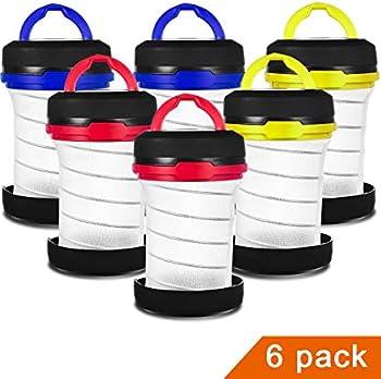 6-Pack MISPO Camping Lantern Flashlights