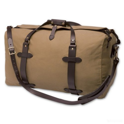 Filson Medium 25'' Duffle Bag (One Size, Desert Tan) by Filson
