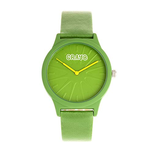 reen Leatherette Strap Unisex Watch CRACR5305 ()