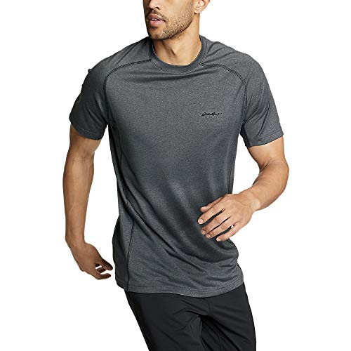 Eddie Bauer Men's Resolution Short-Sleeve T-Shirt, Charcoal HTR