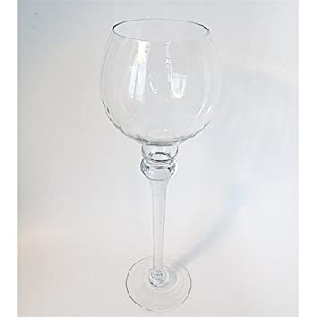 Amazon Tall Glass Cup Vase Candle Holder Centerpiece 16 H X 4