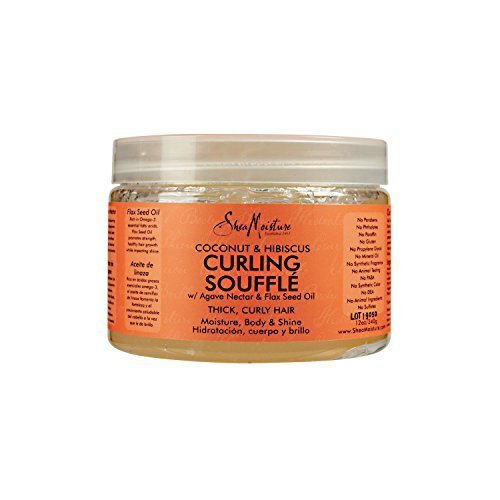 SheaMoisture Coconut and Hibiscus Curling Gel Souffle by Shea (Gel Souffle)