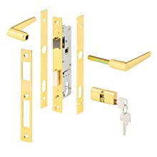 Prime-Line Products 5130 Storm Door Mortise Lock with 5 Pin Tumbler