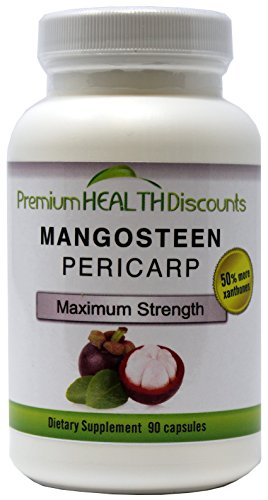 Mangosteen, 1500mg per Serving of Mangosteen Pericarp, 90 Capsules per Bottle by Premium Health Discounts