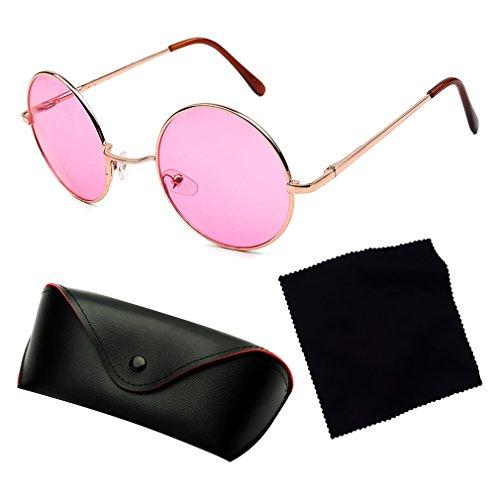 Vacaciones Gafas Tendencia Conducir Grandes Para Eyewear 400 Unisex De Redondas Protección Sol Viajar Cool Gafas Brillantes De Lindo Príncipe C2 UV AxUBwArq