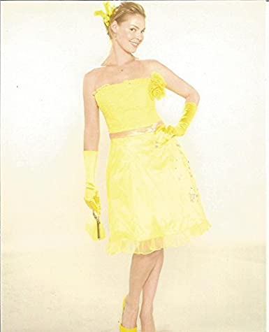 49903bcc2a Katherine Heigl in yellow dress 8x10 inch Promo Photo - 004 at ...