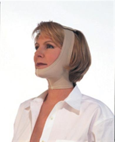 EPSTEIN Facioplasty Support for Neck and Chin (One Size Fits All), Beige, by Jobst by JOBST