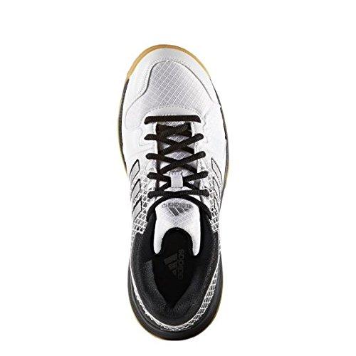 adidas Performance Mujer Fitness Guantes Blanco-Negro-Plateado