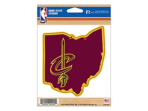 Cavaliers Home State NBA (Cavalier Sticker)