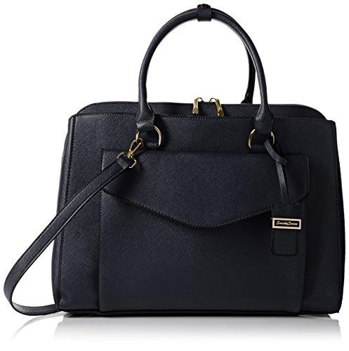Sara Swankyswans Work Envelope - Woman Shoulder Bag Blue (navy Blue)