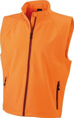 Arancione Nicholson Da In Shell amp; James orange Uomo Gilè Tessuto Soft qBxARnzR