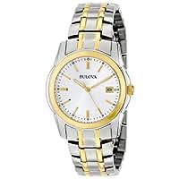 Bulova Men's 98H18 Two-Tone Bracelet Watch