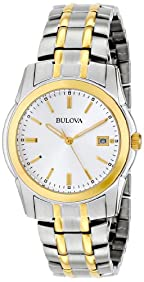 Bulova Men's 98H18 Two-Tone Bracelet Watch