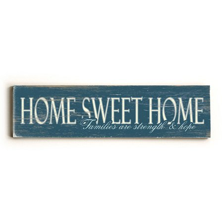 Amazon.com: Home Sweet Home Wall Art (personalizada) Letrero ...