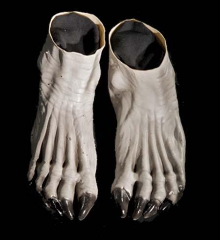 Distortions Unlimited Grey Werewolf Feet