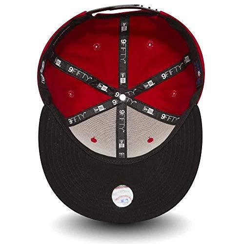50e7221cd4c Amazon.com  New Era New York Yankees M L Red Cotton Block Snapback Cap  9fifty Medium Large  Clothing