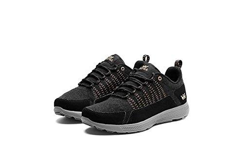 SUPRA Shoes OWEN BLACK WHITE Negro - negro