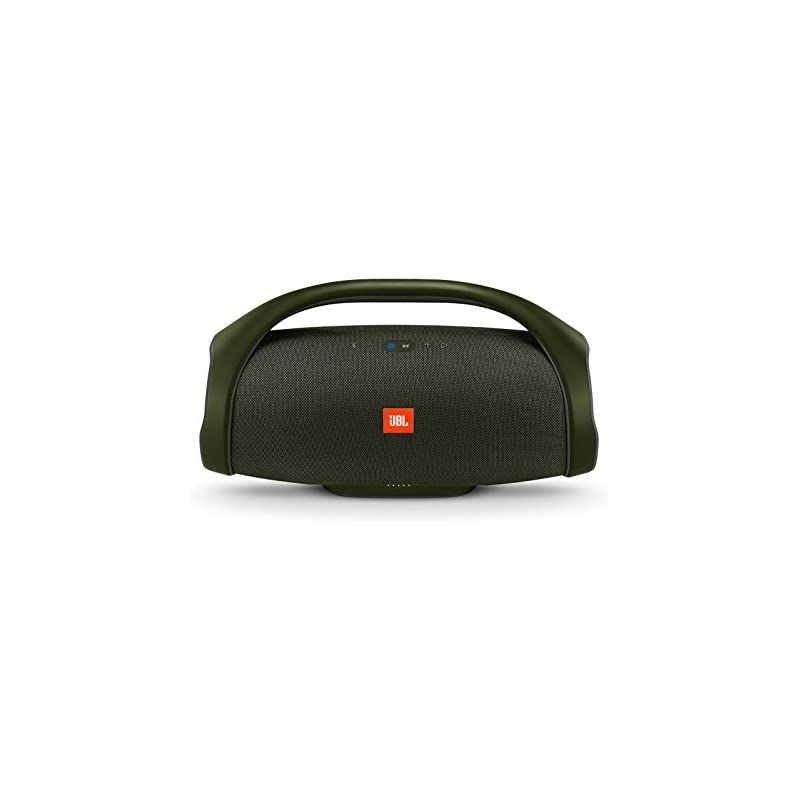 JBL Boombox Portable Bluetooth Waterproof Speaker (Forest Green)