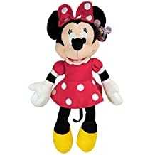 Disney Mickey Mouse Clubhouse - Minnie Plush Doll w/ Red Dress and Bow