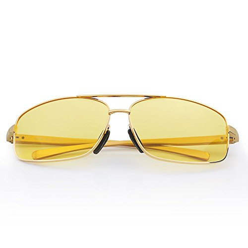 QUORA Night Driving Glasses Anti Glare Vision Driver Safety Sunglasses Rain Day Night Vision - Part Sunglass Names
