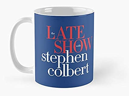 The Mug Coffee >> Amazon Com Late Show With Stephen Colbert Mug Mug Mug Coffee Mug