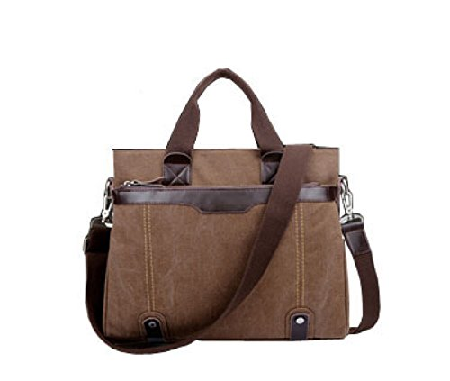 Travel Brown Leisure Multi Bag Shoulder Messenger Laidaye Canvas purpose Business Backpack aTB48wqO