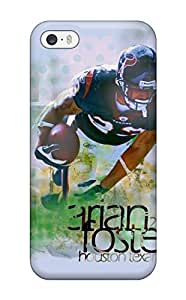 Flexible Tpu Back Case Cover For For iphone 5/5s - Houston Texans Q