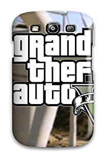 Hot Fashion GGYHJyE2412KNOnz Design Case Cover For Galaxy S3 Protective Case (gta 5)
