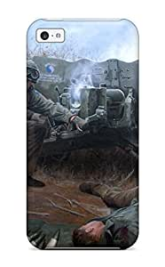 linJUN FENGPremium Protection Soldier Case Cover For iphone 4/4s- Retail Packaging