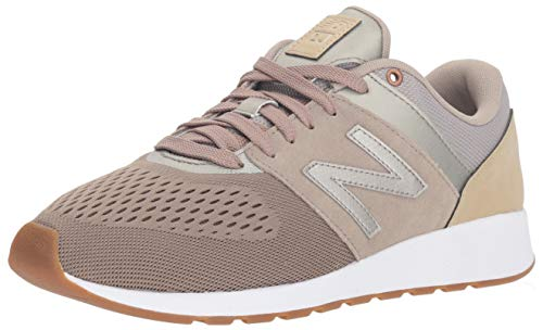 (New Balance Womens 24v300 Sneaker, tan/Incense, 9.5 B US)