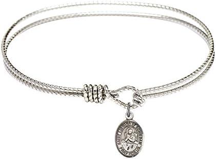 Lidwina of Schiedam Charm. DiamondJewelryNY Eye Hook Bangle Bracelet with a St