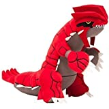 "Large Size 11.5"" Groudon Plush Doll Pokemon Center Stuffed Toy"