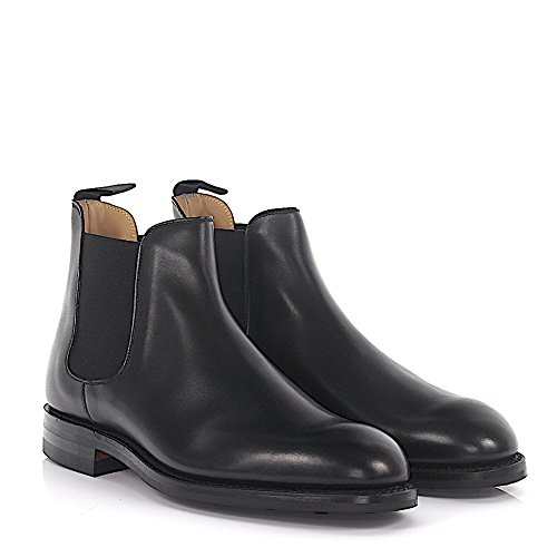 Crockett & Jones Chelsea Støvler Chelsea 5 Leder Sort Goodyear Welted 0CjeCYsw