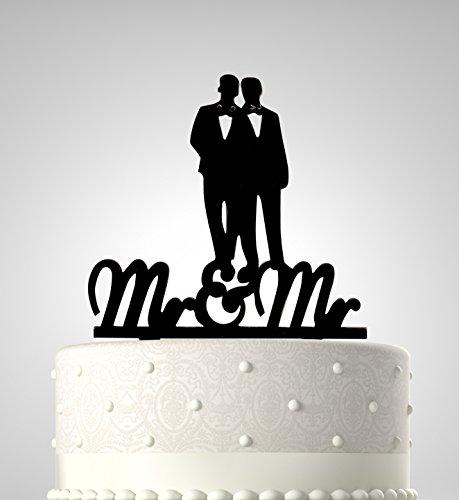 Ribbons Wedding Silhouette Decoration Acrylic product image